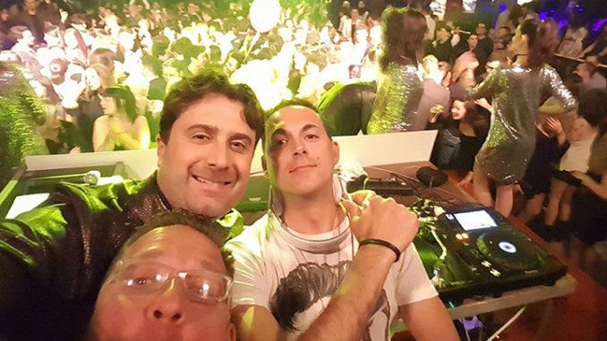 Nella foto, primo da sinistra, Alessandro Trolese