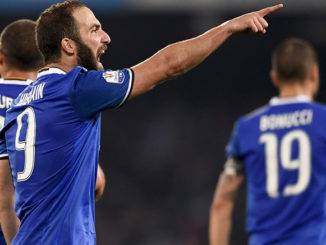 Nella foto Gonzalo Higuain Ph. Lapresse - Napoli Juventus