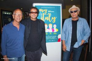 Nella foto, insieme a Colella e Bassi, Enzo Gragnaniello