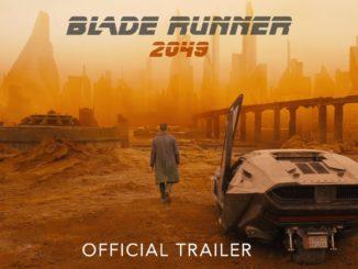 Locandina ufficiale di Blade Runner 2049