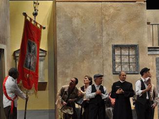 Nella foto una scena dello spettacolo