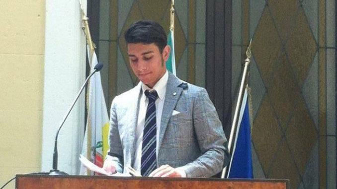 Nella foto Sasha Sorgonà - Commissario Silb-Fipe Reggio Calabria (Foto da citynow..it)