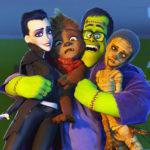 """Il """"Conte Dracula"""" versione Max Gazzè in Monster Family"""
