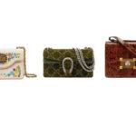 Look romantico nelle borse Gucci Cruise