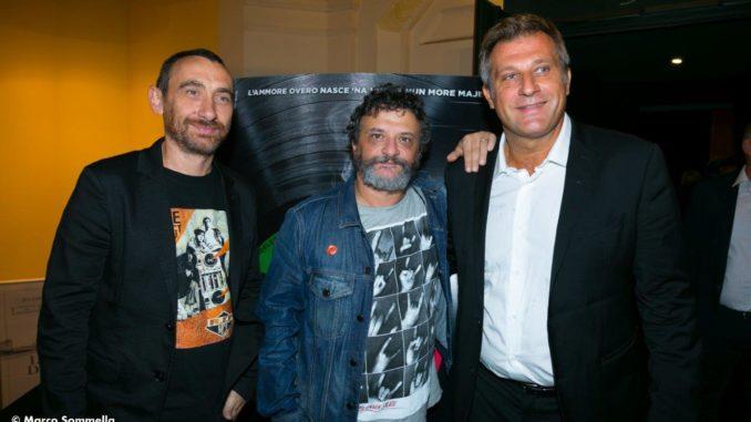 Nella foto da sinistra Antonio Manetti, Marco Manetti e Nicola Grispello. (Ph. Marco Sommella)