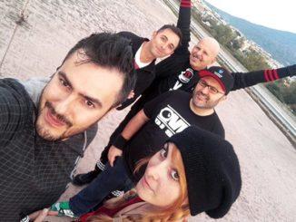 Nella foto Gabri Gargiulo, Barbara Romano, Shaone, Dj Simi e Lello Fusco