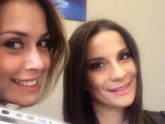 Nella foto da sinistra Fatima Trotta e Anna Capasso