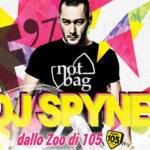 Sabato 3 febbraio DJ Spyne di Radio 105 al Fashion' di Quart (Ao)