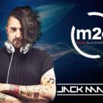 Jack Mazzoni ospite a Music Zone, programma di Radio M2o