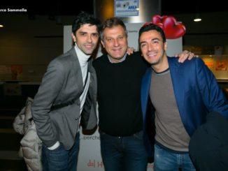 Nicola Grispello insieme a Gigi e Ross (Ph. Marco Sommella)