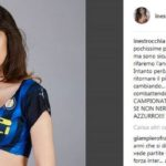 L'interista Ines Trocchia per lo scudetto tifa Napoli