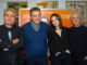 Luciano Ligabue, Nicola Grispello, Kasia Smutniak e Domenico Procacci. (Ph. Marco Sommella)
