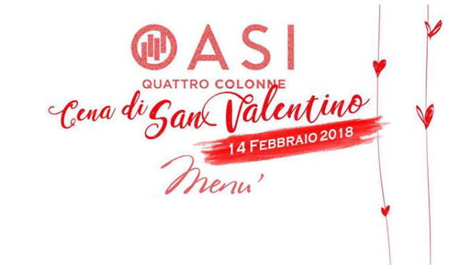 San Valentino all'Oasi Quattro Colonne