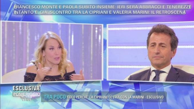 Barbara D'Urso e Riccardo Ferri a Pomeriggio Cinque
