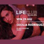 Cecilia Rodriguez al Life Club di Rovetta (Bg)