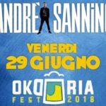 Continua alla grande la tournée di Andrea Sannino