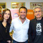 Marco Sommella, Luciano Ligabue e Kasia Smutniak