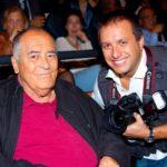 Marco Sommella e Bernardo Bertolucci