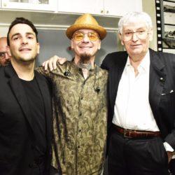 Nella foto Glauco Ghelardoni, J-AX e il patron della Capannina Gherardo Guidi. Ph Fabrizio Nizza