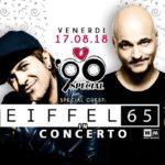 Questa sera alla Capannina di Franceschi gli Eiffel 65