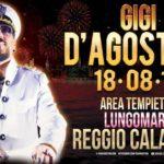 Gigi D'Agostino ritorna a Reggio Calabria