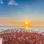 """Samsara Beach, un """"lido"""" che attira turisti a Gallipoli"""