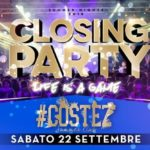 Closing party per l'estate Costez