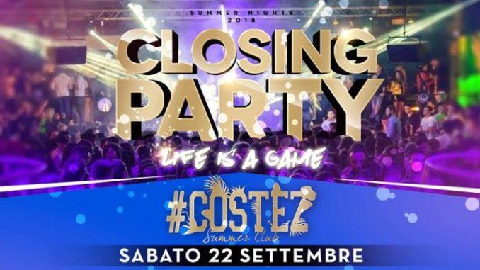 Costez Summer closing