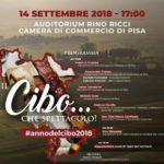 Il Cibo… che  spettacolo! – eccellenze gastronomiche in mostra a Pisa