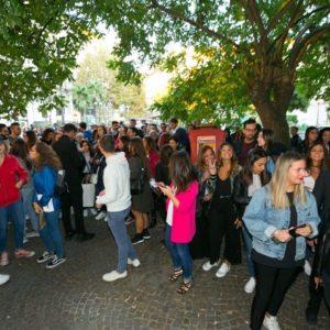 Bagno di folla per i TheGiornalisti a Napoli Ph. Marco Sommella