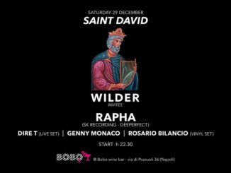dj wilder. Party di Dj Wilder al Bobo di Napoli
