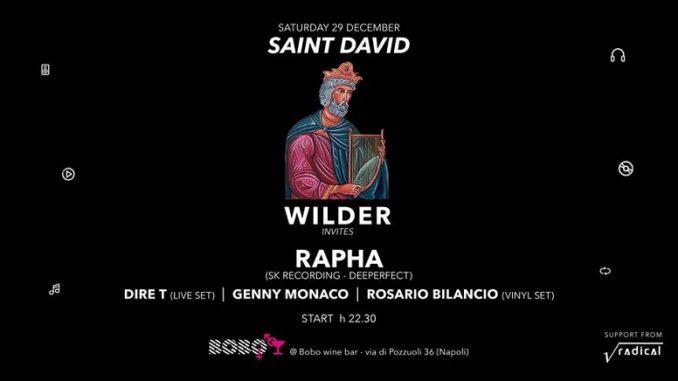 dj wilder. Party di Dj Wilder al Bobo di Napoli
