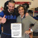 Insieme per Christian: Ricky Le Roy, Domenico Imperato Franchino  e tanti altri personaggi uniti per la solidarietà