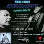 Sandro Murru Kortezman, dj set il 19 marzo 2021 al Rabbit – Sestu (Cagliari)