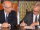 Nella foto, sua Eccellenza Giuseppe Forlani, Prefetto di Parma, e il Dott. Ernesto Mendola, presidente Silb di Parma