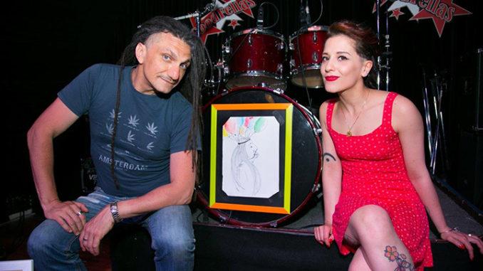 Nella foto, da sinistra Bob Gallino e Silvia Amorese. Ph. Marco Sommella