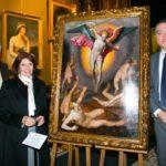 San Michele Arcangelo: presentazione il dipinto al Museo Filangieri