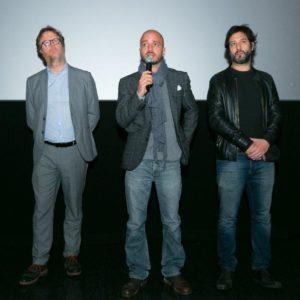Francesco Bonelli, Nicolas Vaporidis e Matteo Branciamone (PH. Marco Sommella)