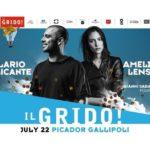 Ilario Alicante e Amelie Lens arrivano a Gallipoli