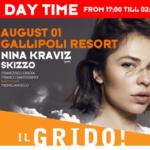 GALLIPOLI RESORT: DAYTIME EVENT CON NINA KRAVIZ