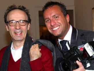 Marco Sommella e Roberto Benigni