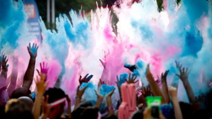 color run. Color Run Milano