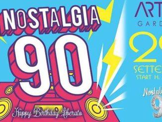 dance anni 90., Nostalgia '90 all'Artis Garden di Foggia