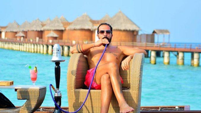 Andrea Vento alle Maldive