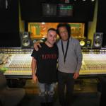 Breaking – Joseph Capriati in studio con James Senese
