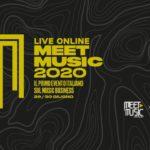 Meet Music – Live On Line il 29 e 30 giugno in diretta streaming