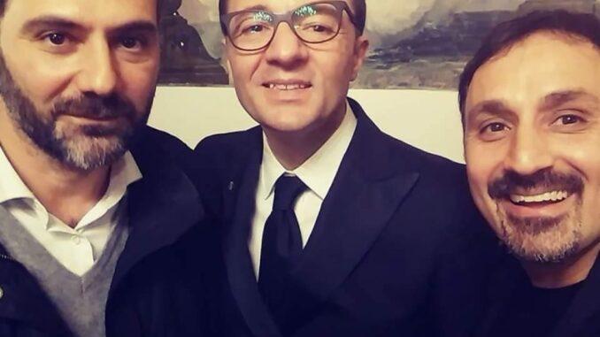 Peppe Barretta, Catello Maresca e Vincenzo Schiavo