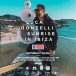 Pequod Acoustics, Luca Donzelli Sunrise in Ibiza, sabato 24/04 dalle ore 22
