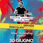 Alberto Salaorni & Al-B.Band il 30 giugno '21 @ Signorvino Affi (VR)