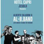Alberto Salaorni & Al-B.Band all'Hotel Capri – Jesolo (VE) a Ferragosto '21